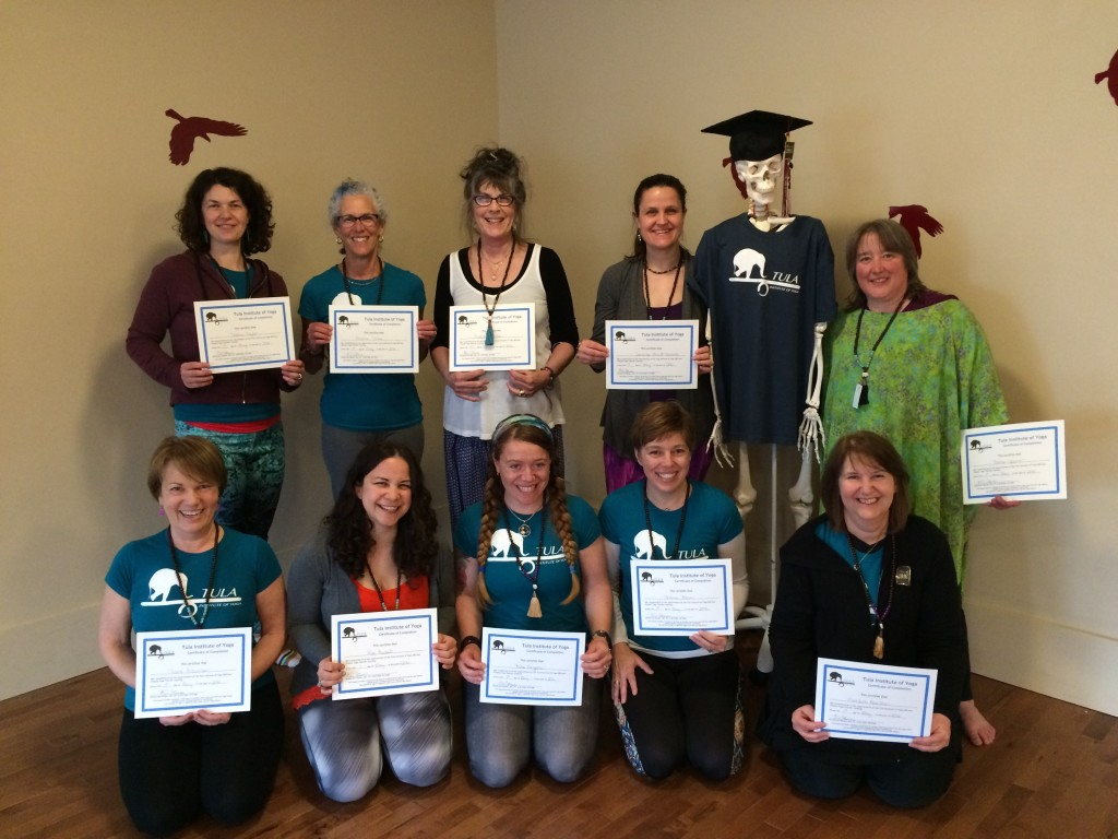 TULA Graduates of Yoga Teacher Training