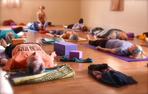Yoga Page Resting Pose